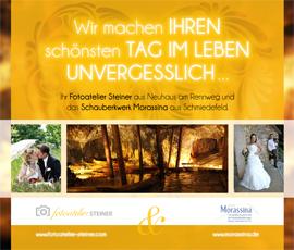 Hochzeitsaufnahmen Fotoatelier Steiner